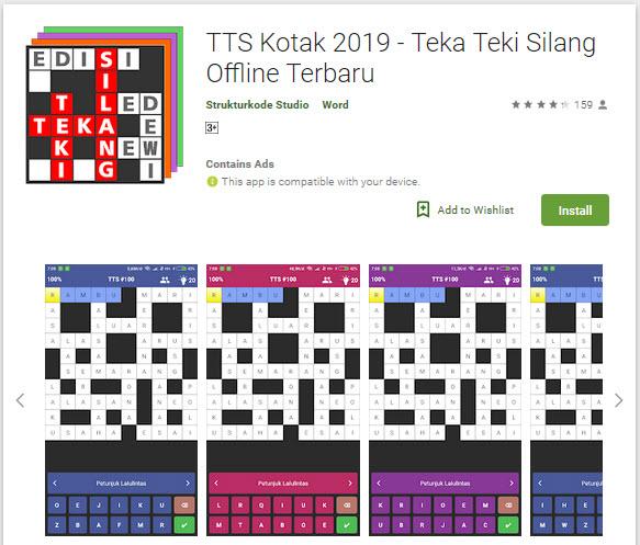 TTS-pinter-teka-teki-silang-terbaru-offline